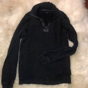 Navy blue Calvin Klein thermal zip up